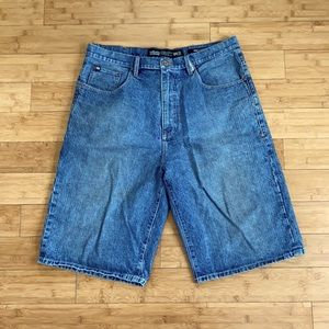 Vintage echo unlimited jean shorts